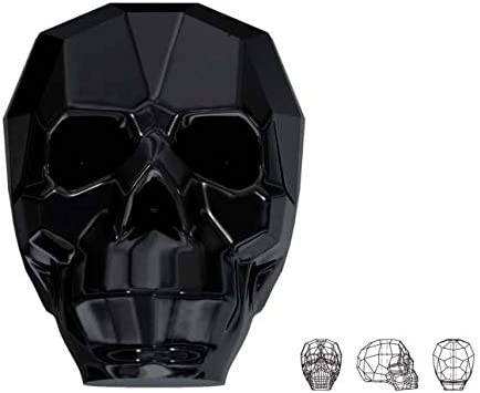 Swarovski Crystal Beads Faceted Skull 5750 Clear 14x13x10mm
