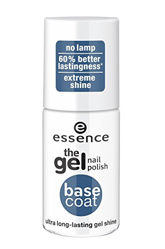 Long Lasting Ultra Shine Nail - Essence the Gel Nail Polish Base Coat Ultra Long-lasting Gel Shine