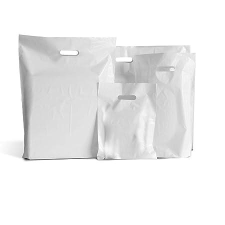 200 bolsas de plástico blanco 15