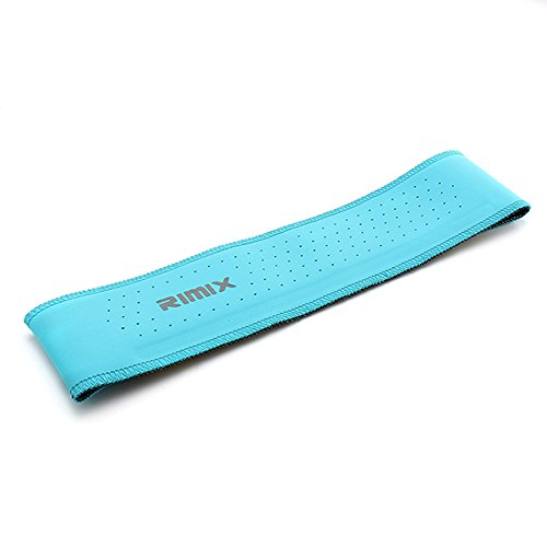 Tutoy Rimix Sport Sweat Headbrand Outdooors Fitness Respirant Hidroschesis Band De Refroidissement-Bleu