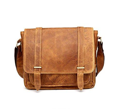 Herren Vintage-Mode single Schulter geschlungen Taschen