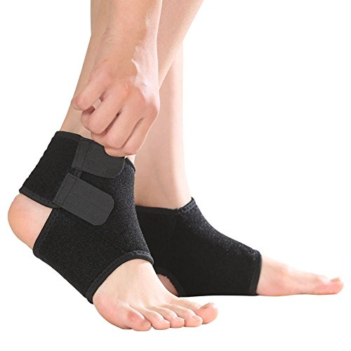 Qchomee Girls Boys Ankle Support Brace Compression Ankle Strap Immobilization Foot Wrap for Sprain Arthritis Pain Relief, Tendon Injury Recovery Re-injury Protection – DiZiSports Store