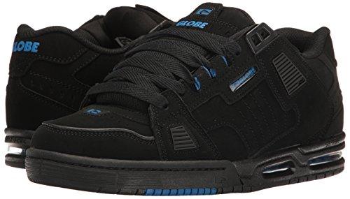 Globe Sabre black/black/blue Shoes