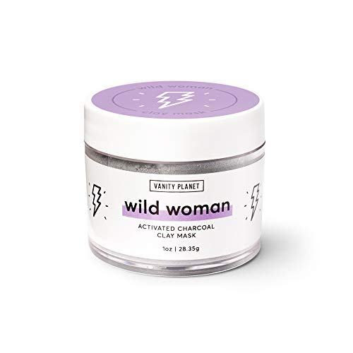 Vanity Planet Wild Woman Activated Charcoal Clay Mask, Oily/Acne Prone Skin ()