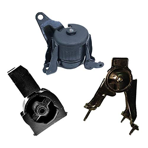 (K0735 Fits 2005-2010 Scion TC 2.4L Engine Motor Mount Set 3PCS : A62033, A62037HY, A72012)