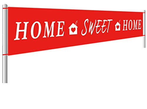 Colormoon Large Home Sweet Home Banner | Welcome