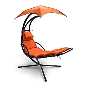 Amazon Com Sky Lounger Terra Cotta Hanging Chaise Chair