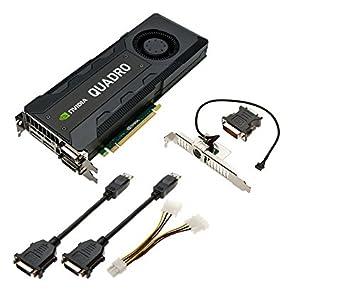 PNY NVIDIA Quadro K5200 8GB GDDR5 PCIe3.0 Tarjeta gráfica ...