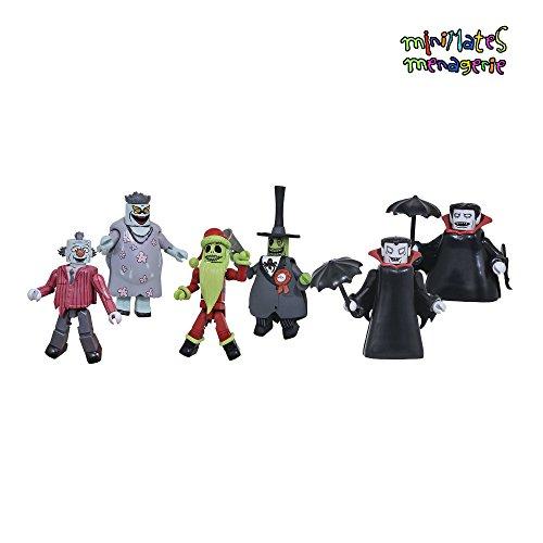Nightmare Before Christmas Minimates Series 5 Complete Set of Three 2-Packs (6 Figures)