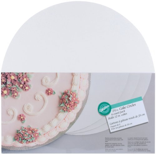 Wilton 14-Inch Cake Circle, 6-Pack by Wilton