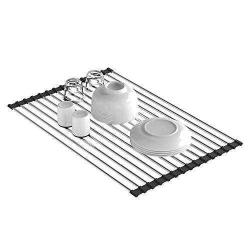 Dish Drying Rack, Packetop Dish Rack Roll Up Dish Drying Rac