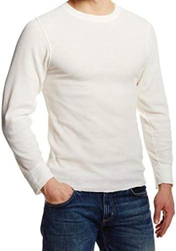 Natural, Large SB TEch Mens Thermal Long-Sleeve Top