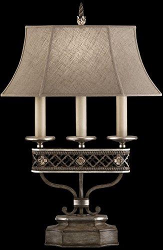 Fine Art Lamps 810010, Villa Vista 3 Way Candelabra Table Lamp, 1 Light,