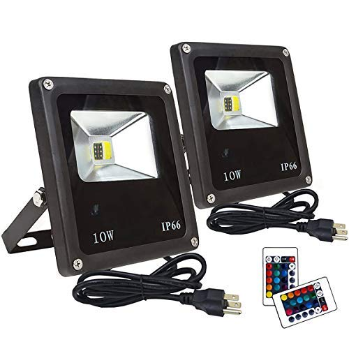 Led 10W Rgb Colour Changing Flood Light Ip65 in US - 6