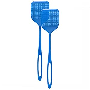 Smart Swatter ORIGINAL Fly Swatter - PICKS UP BUG w/904 Spikes, Patented & Made in USA, For Insects, Bugs, Spiders, Fly Killer Comes in a 2 Pack