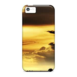 Tough Iphone DVeCLID7502IuriW Case Cover/ Case For Iphone 5c(morning Sun Iphone Wallpaper)