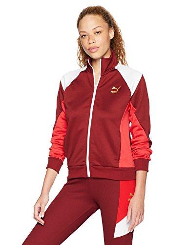 (PUMA Women's Retro Track Jacket, Pomegranate, S)