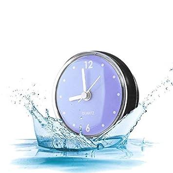 Kreative Badezimmer Uhr Mini Wasserdichte Uhr mit Saugnapf für ...