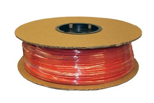 (ATP IMBIBE NSF 61 Polyethylene Plastic Tubing, Red, 1/4