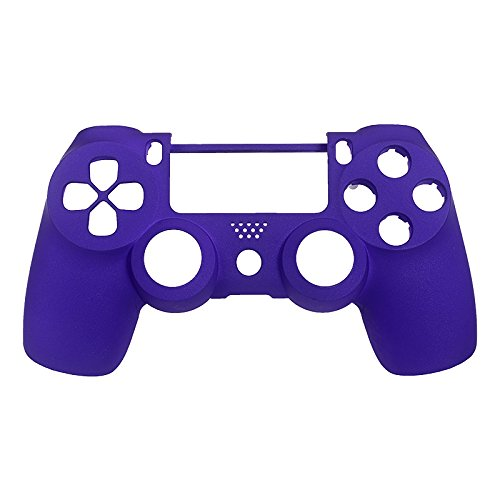 eXtremeRate-Purple-Soft-Touch-Replacement-Shell-Front-Faceplate-Cover-for-PlayStation-4-PS4-Controller-Generation-1-and-Generation-2