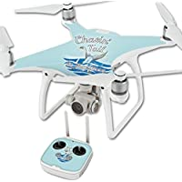 Skin For DJI Phantom 4 Quadcopter Drone – Chasin Tail   MightySkins Protective, Durable, and Unique Vinyl Decal wrap cover   Easy To Apply, Remove, and Change Styles   Made in the USA