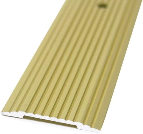M-D Building Products 79095 Wide Fluted 1-1//4-Inch by 72-Inch Seam Binder Satin Brass