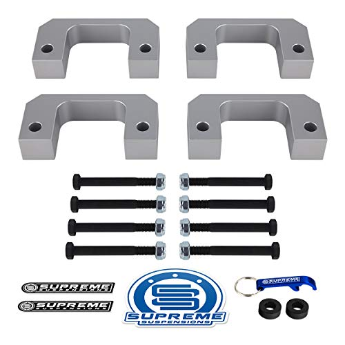 Supreme Suspensions - 2007-2019 Chevy GMC Front Lift Leveling Kit Adjustable 1