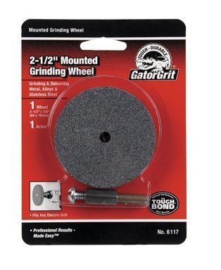 """Grinding Disc 0.5 /"""" Thck Fits Any Electric Drill"""