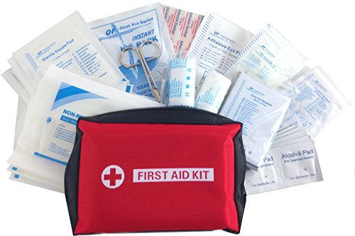 Medium First Aid Kit (101 Pieces) - For Home, Workplace, Auto, Camping, Sport - By MedSoft