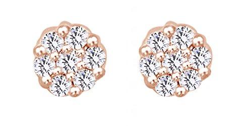Gold Endless Diamond Flower - 1