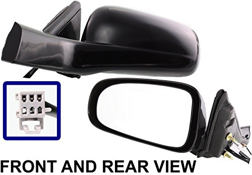 CHEVY IMPALA 00-05 SIDE MIRROR LEFT DRIVER, Power -
