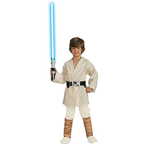 Star Wars Child's Deluxe Luke Skywalker Costume, (Free Costumes)