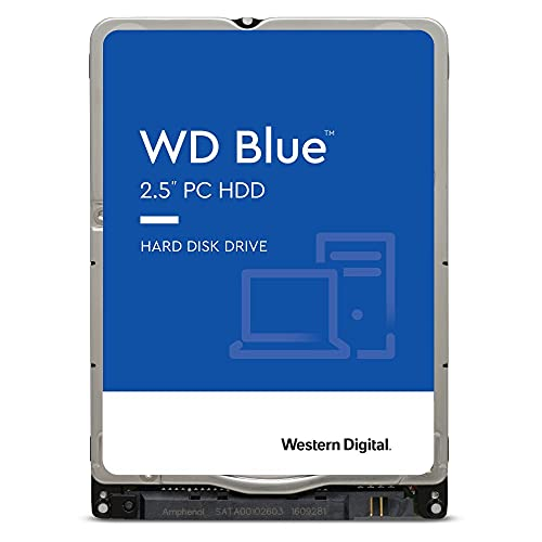 """Western Digital Blue 2 TB 2.5"""" 2000 GB Serial ATA III - Disco Duro (2.5"""", 2000 GB, 5400 RPM)"""