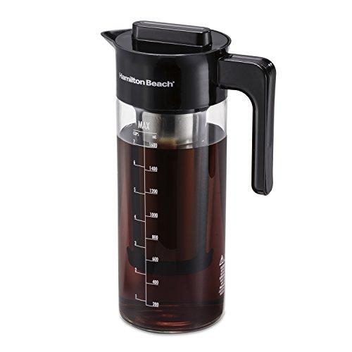 Hamilton Beach 40405R Cold Brew Coffee Maker, 57 oz/1.7 L