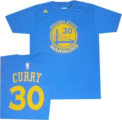 Golden State Warriors Stephen Curry Net Print Light Royal Blue Gametime T  Shirt (Small) b917f11b1