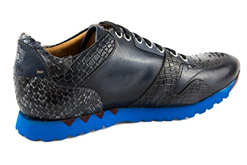MELVIN & HAMILTON Herren Gavin 1 Sneaker Schnürer Low Blau Gr. 42