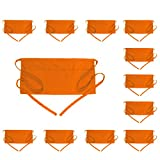 BOHARERS Waist Apron with 3 Pockets 12 Pack