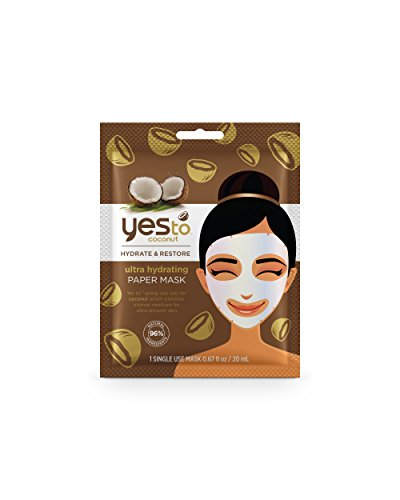 Coconut Paper - Yes to Coconut Ultra Hydrating Paper Mask