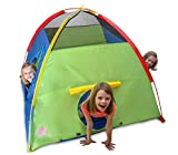 Kiddey Kids Play Tent & Playhouse – Indoor/Outdoor Playhouse Boys Girls – Promotes Early Learning, Social Bonding, Imagination Building Roleplay – Easy Setup
