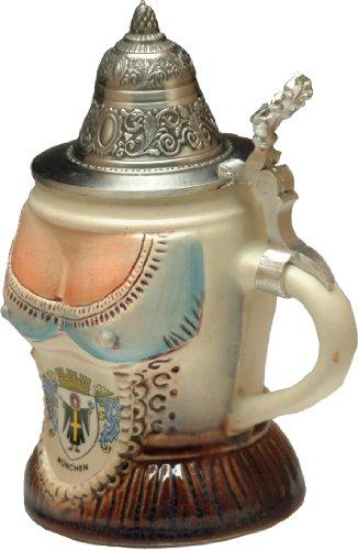Top Stein (Beer Steins by King - Bavarian Woman's Top German Beer Stein (Beer Mug) 0.25l)
