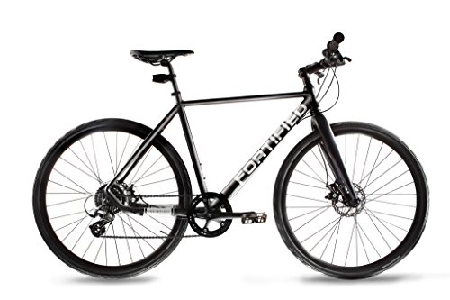 Fortified Theft-Resistant 8 Speed Disc-Brake City Commuter Bike