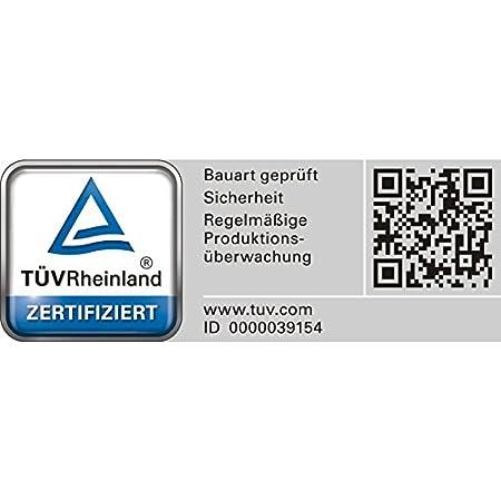 f/ür Benzin und Diesel Bauart gepr/üft T/ÜV Rheinland Zertifiziert Oxid7 2X Benzinkanister Kraftstoffkanister Metall 20 Liter Rot mit UN-Zulassung