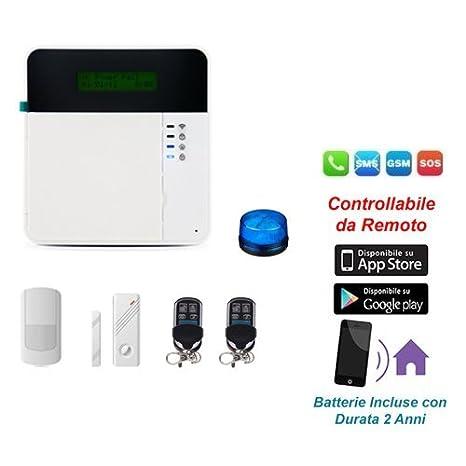 Control de Alarma con móvil, pantalla táctil, GSM, Wireless ...
