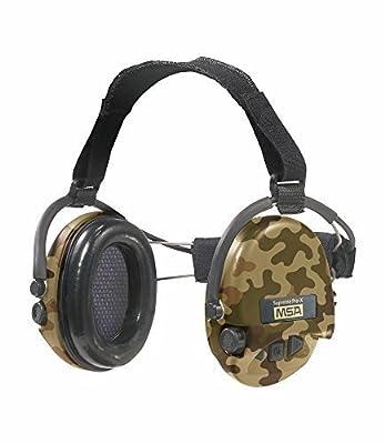 MSA Sordin Supreme Pro X - Neckband - CAMO Edition - Electronic Earmuff, slim-design (foam-seals) by MSA Sordin
