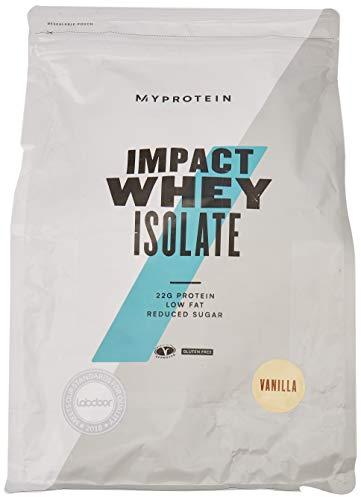 Myprotein Impact Whey Isolate proteïne vanilla, per stuk verpakt (1 x 2500 g)