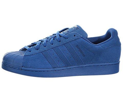Blue Synthetic Star (adidas Originals Men's Superstar RT Shoe,Equipment Blue/Equipment Blue/Equipment Blue,9.5 M US)