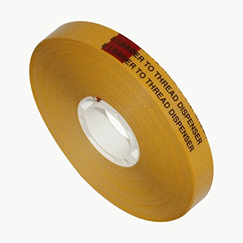 Scapa T002 ATG Tape: 1/2 in. x 36 yds. (Clear Adhesive on Yellow Liner) T002/CLTL0536