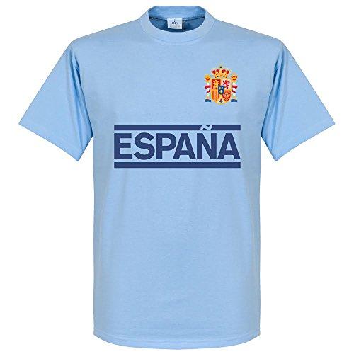 Spanien Casillas Team T-shirt - hellblau