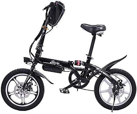 Riscko Wonduu Bicicleta Eléctrica Plegable MT Super Bike Negro ...
