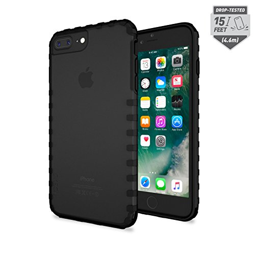 Price comparison product image Skech Transparent 15 Foot Drop Tested Echo Case Ultra Tough Cover Apple iPhone 7 Plus - Onyx